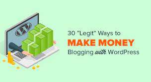 A Running a blog Web site - Making Cash On-line